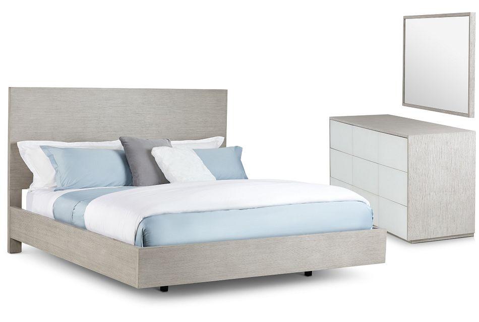 Rio Light Tone Panel Bedroom