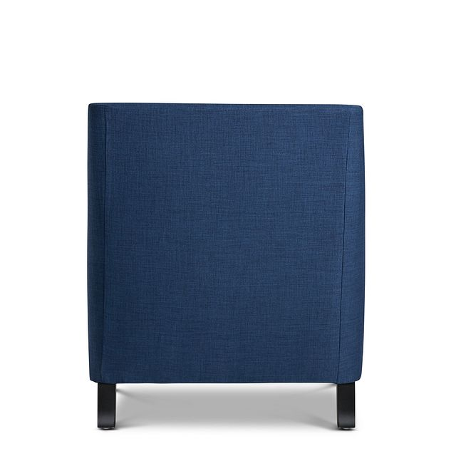 Erica Blue Fabric Accent Chair
