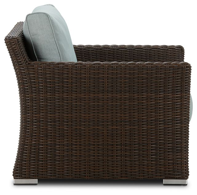 Southport Teal Woven Chair (1)