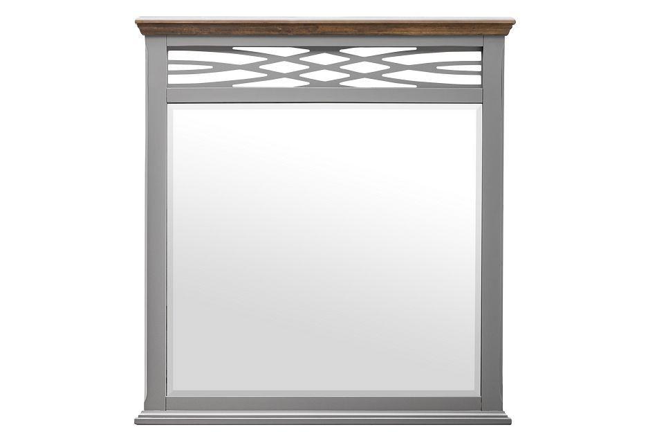 Bellbrook Gray Mirror