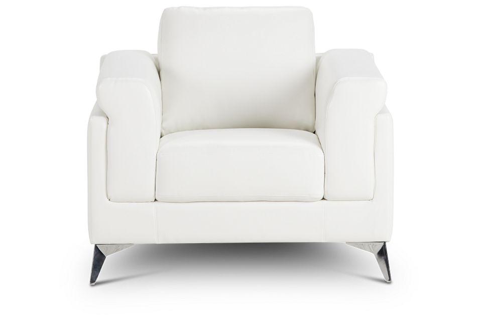 Gianna White Micro Chair