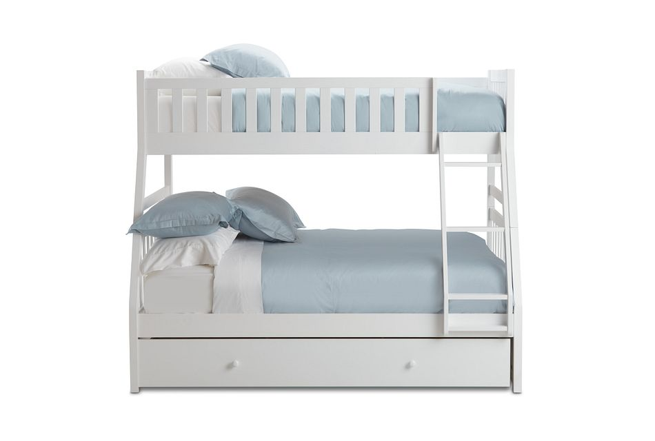 Oakley White Storage Bunk Bed