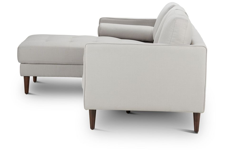 Rue Light Beige FABRIC Left Chaise Sectional,  (2)