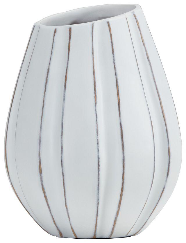 Xander White Vase (0)