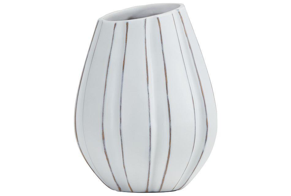 Xander White Vase