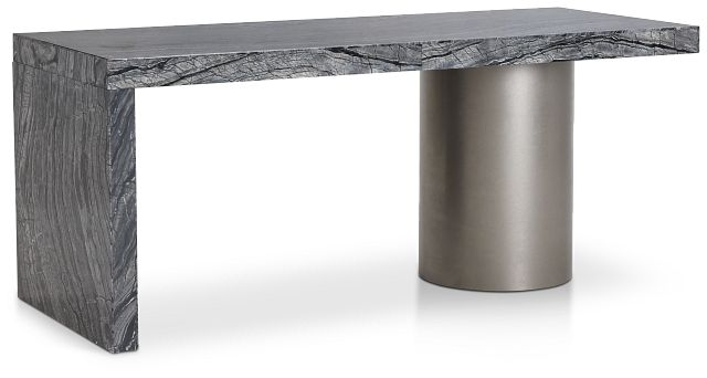 Linea Black Marble Desk (2)
