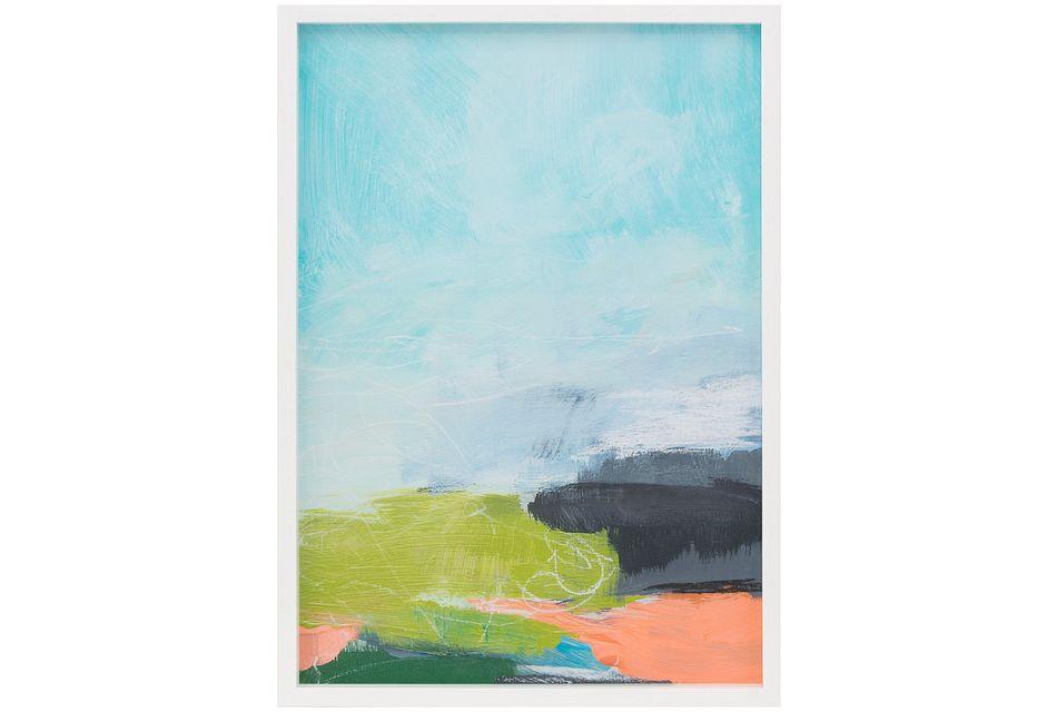 Marella Blue Framed Wall Art