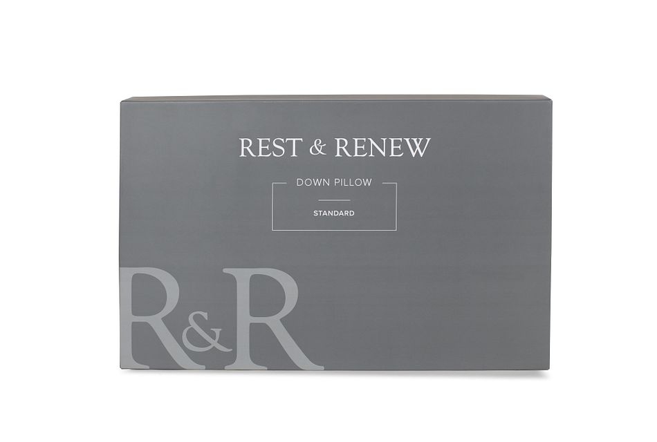 Rest & Renew Down 30%  Stomach Sleeper Pillow