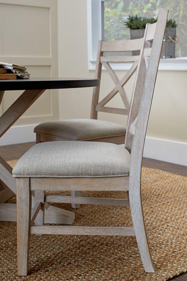 Jefferson Two-tone Wood Side Chair