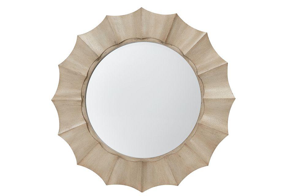 Cosima Light Gold Mirror