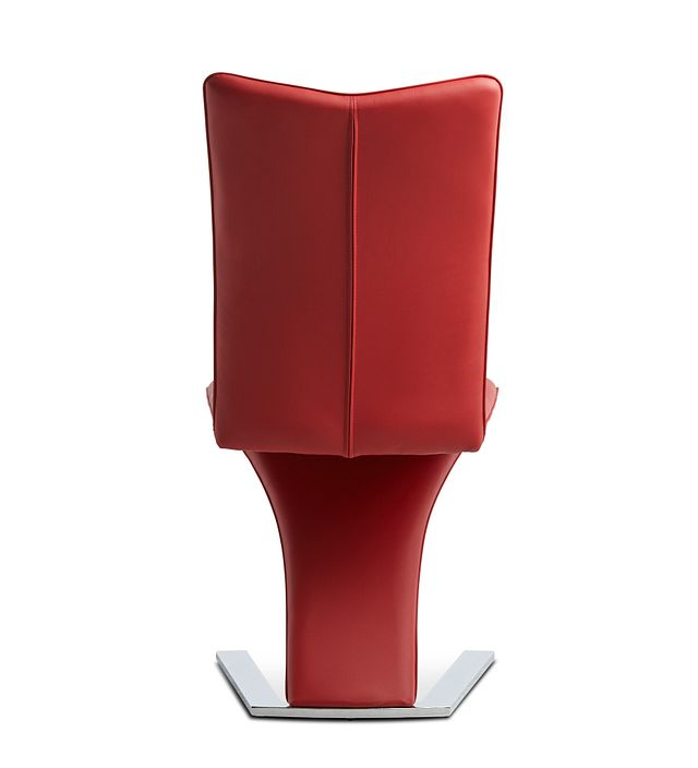Catalina Red Upholstered Side Chair (3)