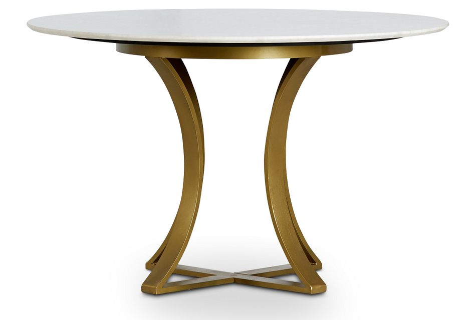 "Gage Marble 48"" Round Table"