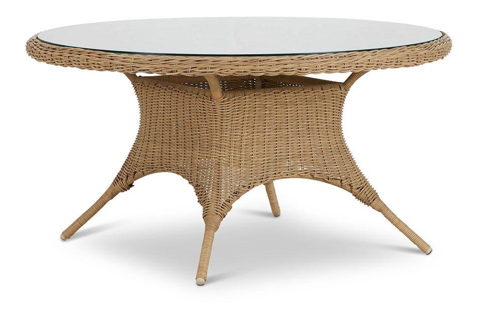 Villa Light Tone Round Table