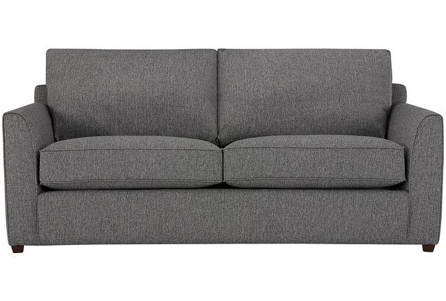 Asheville Gray Fabric Sofa