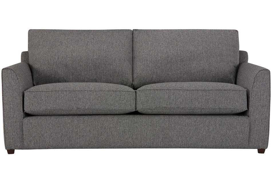 Asheville Gray Fabric Sofa