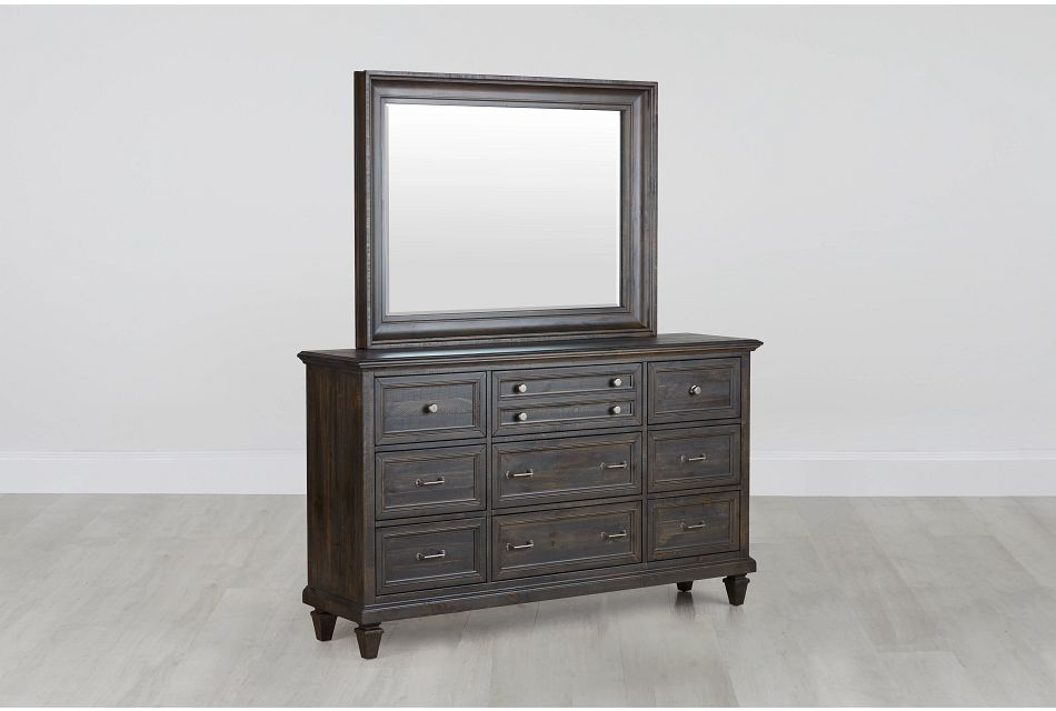 Sonoma Dark Tone Dresser Mirror Bedroom Dressers Mirrors City Furniture