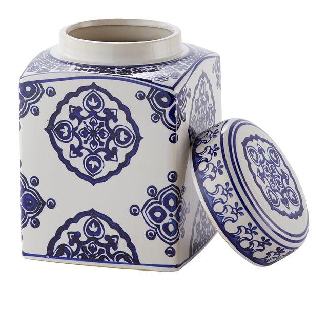 Dirk Dark Blue Medium Jar (2)