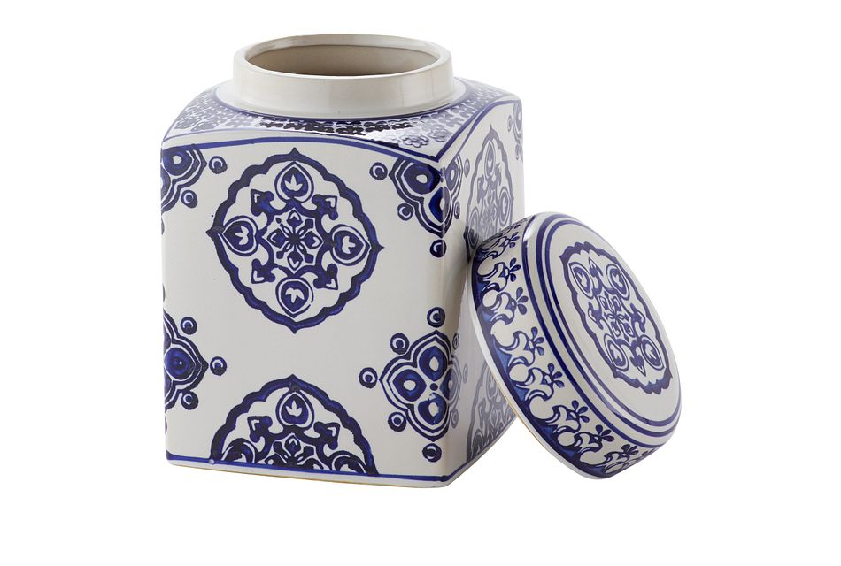 Dirk Dark Blue Medium Jar