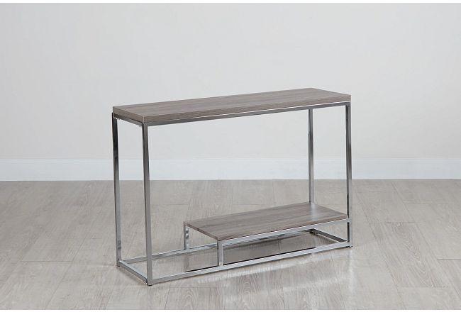 Elliot Gray Console Table