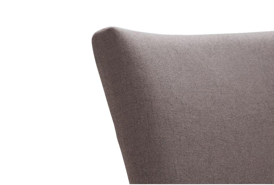"Auburn Dark Gray Fabric 24"" Upholstered Barstool"