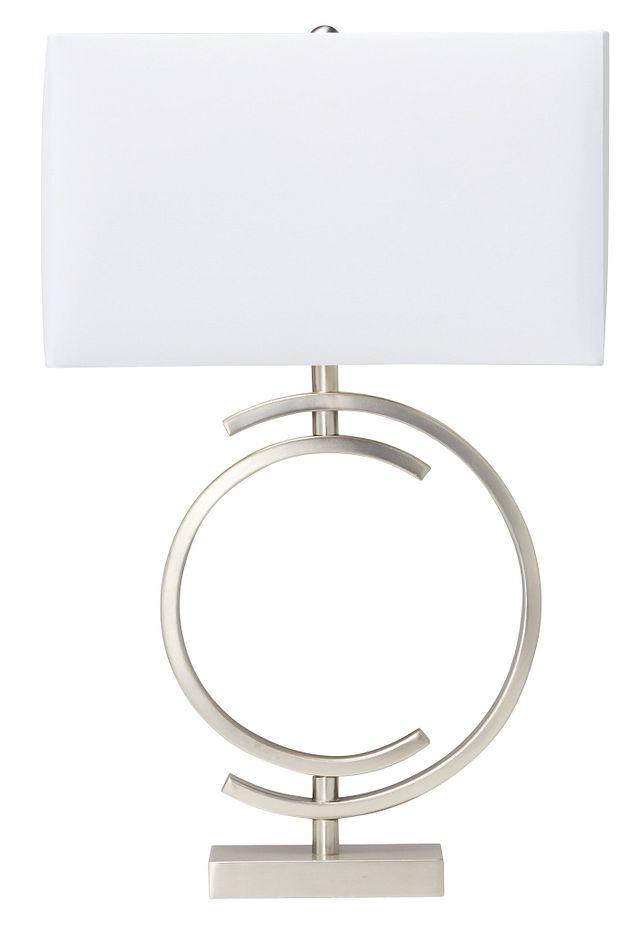Circle Metal Table Lamp (0)
