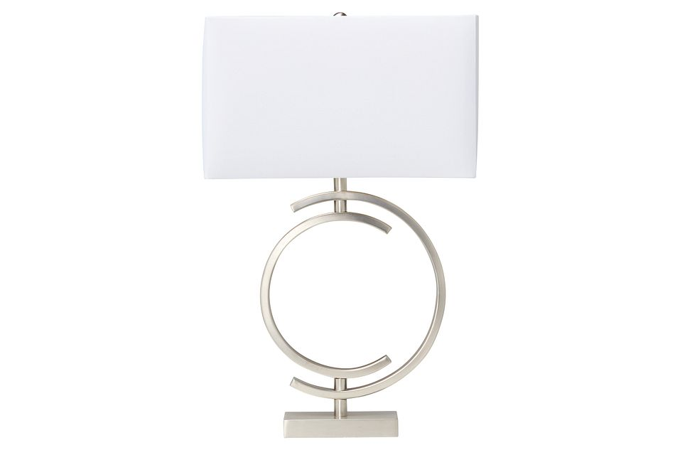 Circle Metal Table Lamp