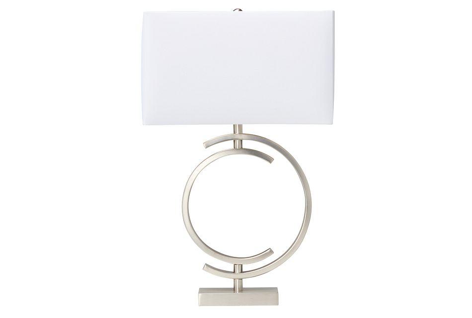 Circle Metal Table Lamp