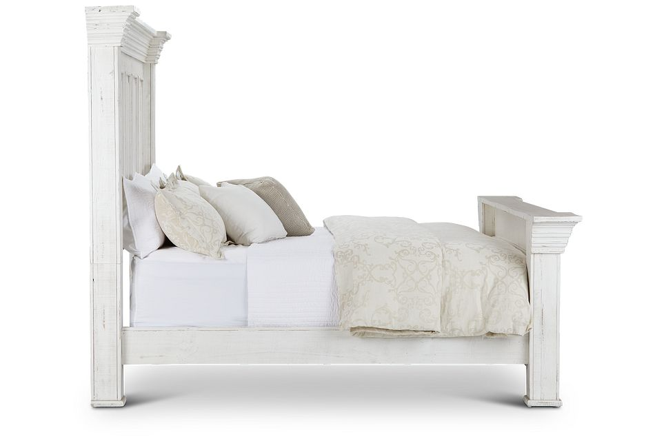 Davenport White Panel Bed