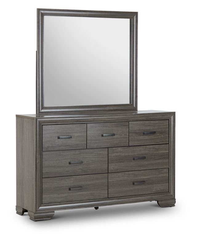 Colson Light Tone Dresser & Mirror (2)