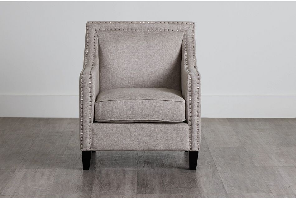 Erica Gray Fabric Accent Chair,  (0)
