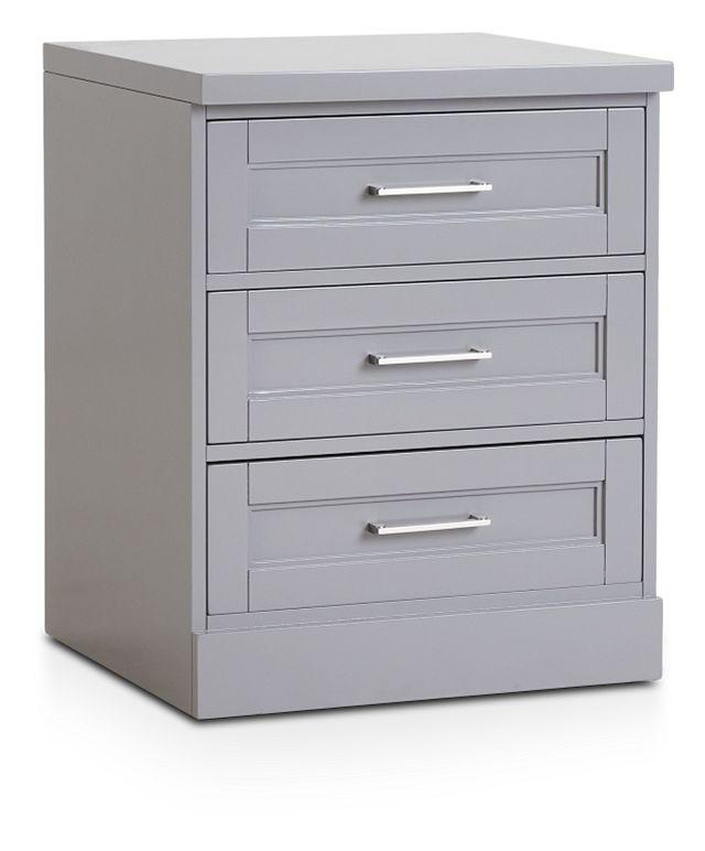 Newport Gray Drawer Cabinet (2)