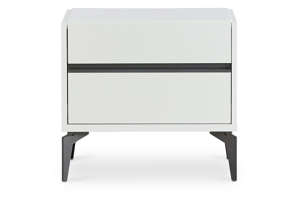 Oslo White Nightstand