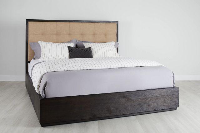 Madden Dark Tone Platform Storage Bed (0)