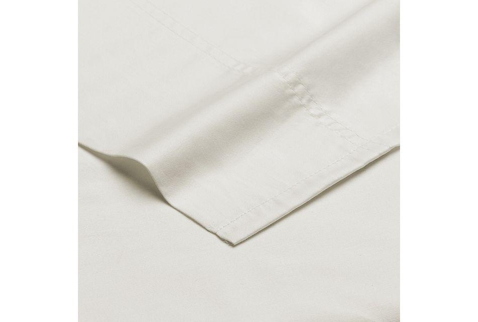 Egyptian Cotton White 400 Thread Sheet Set, Queen (2)