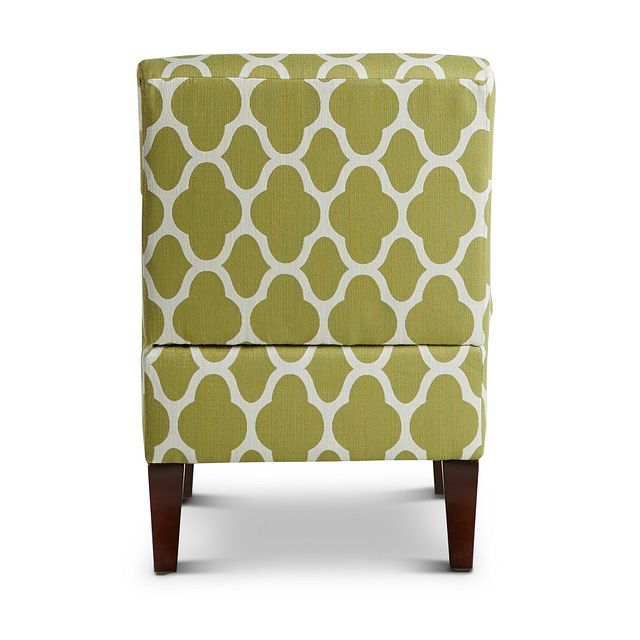Comet Light Green Fabric Accent Chair (3)