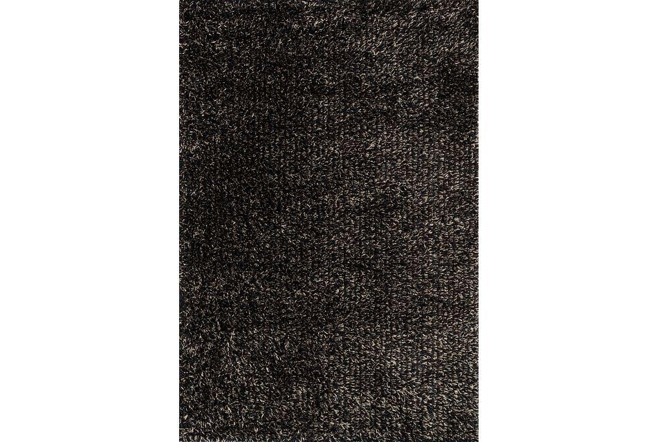 Carrera Black 8x10 Area Rug