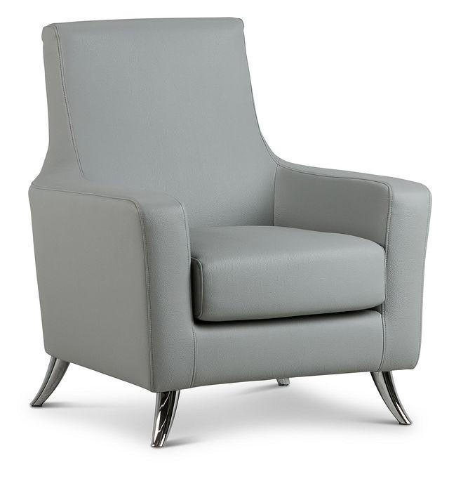 Zane Dark Gray Micro Accent Chair (1)