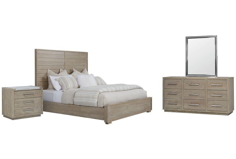 Zephyr Light Tone Panel Bedroom
