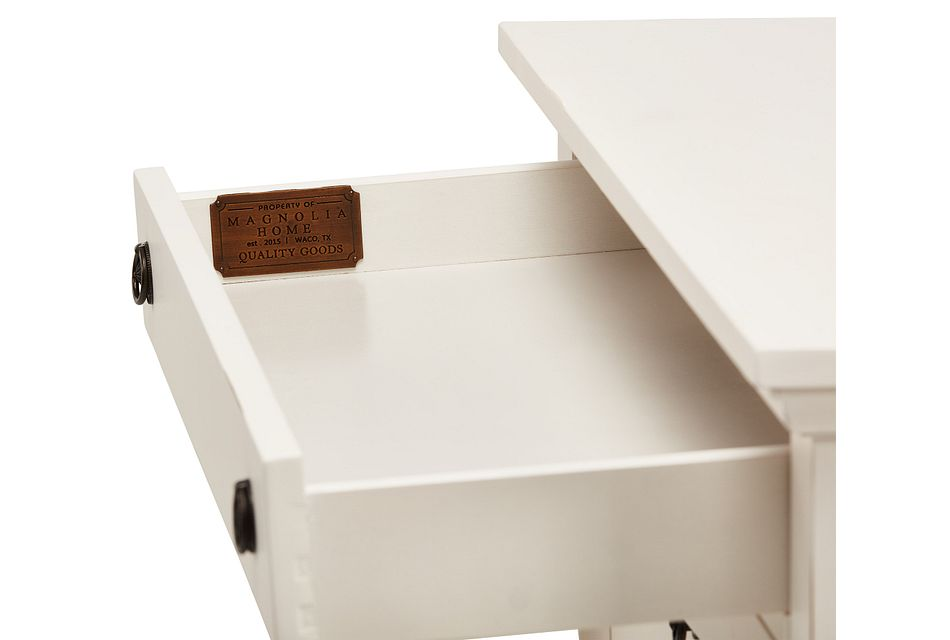 Silhouette White  Drawer Chest