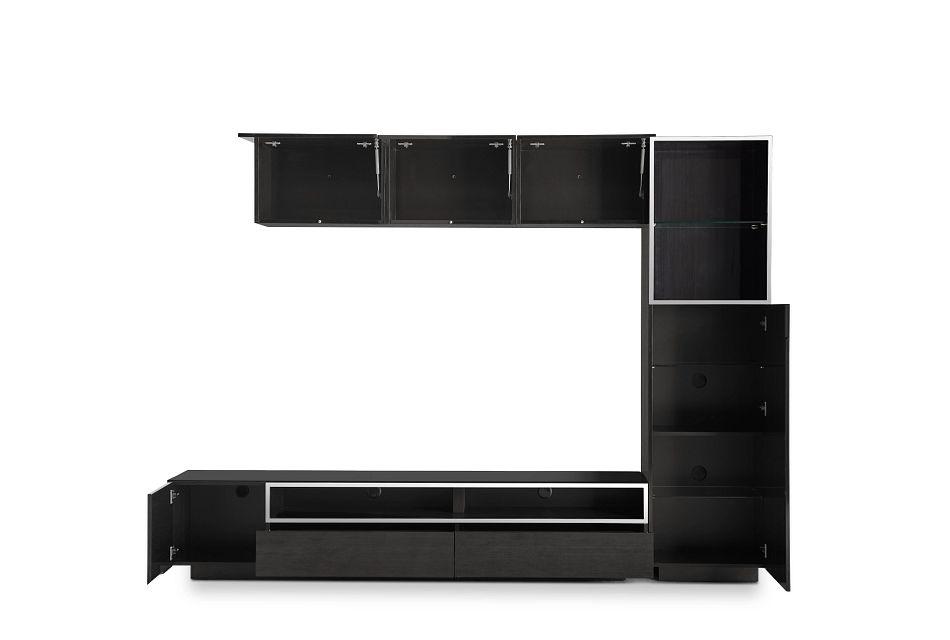 "Vancouver Dark Tone 108"" 5-piece Right Modular Entertainment Wall"
