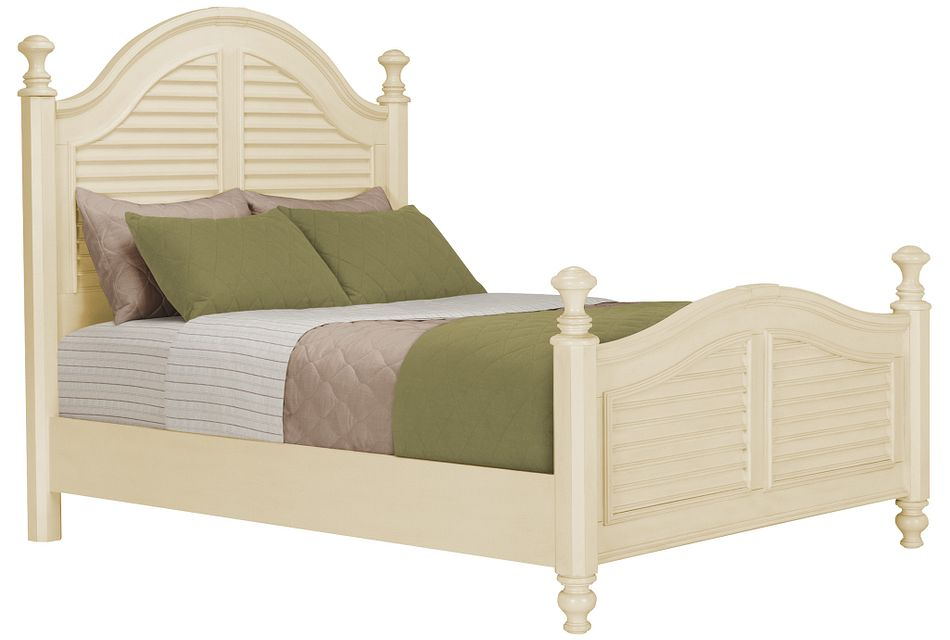 Claire Ivory Poster Bed