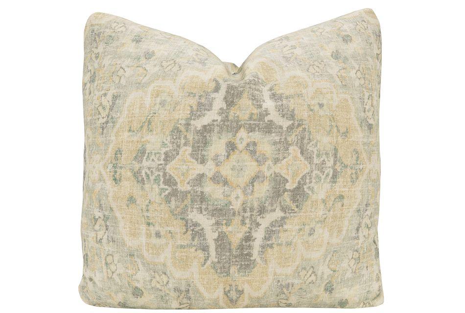 Jaipur Multicolored Fabric Square Accent Pillow