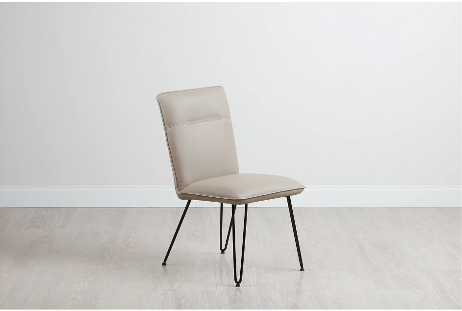 Demi TAUPE  Upholstered Side Chair,  (0)