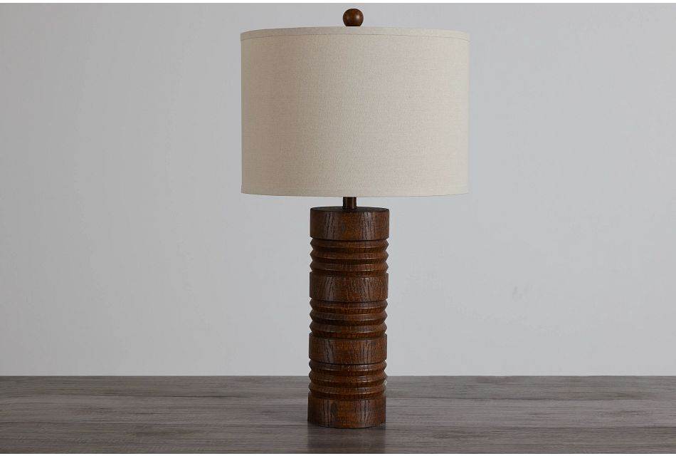 Gina Brown Polyresin Table Lamp,  (0)
