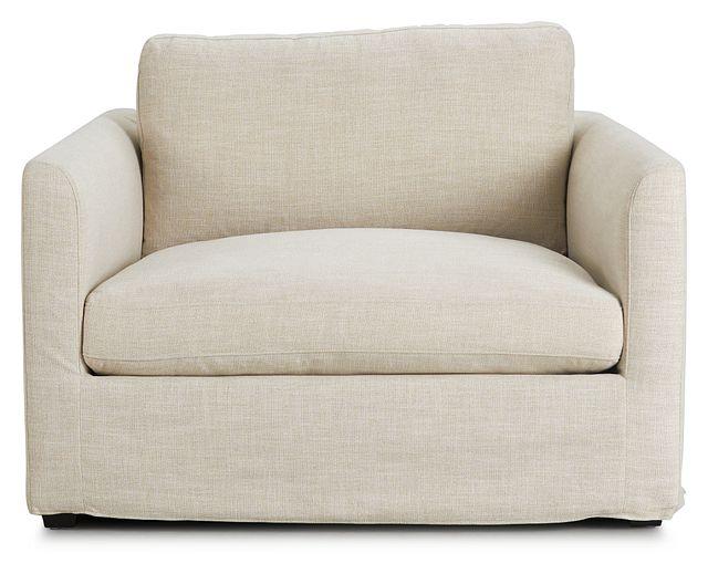 Willow Light Beige Fabric Chair (3)