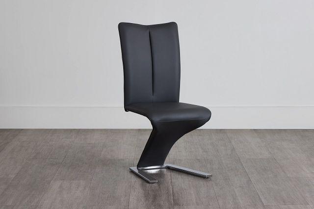 Catalina Dark Gray Upholstered Side Chair (0)