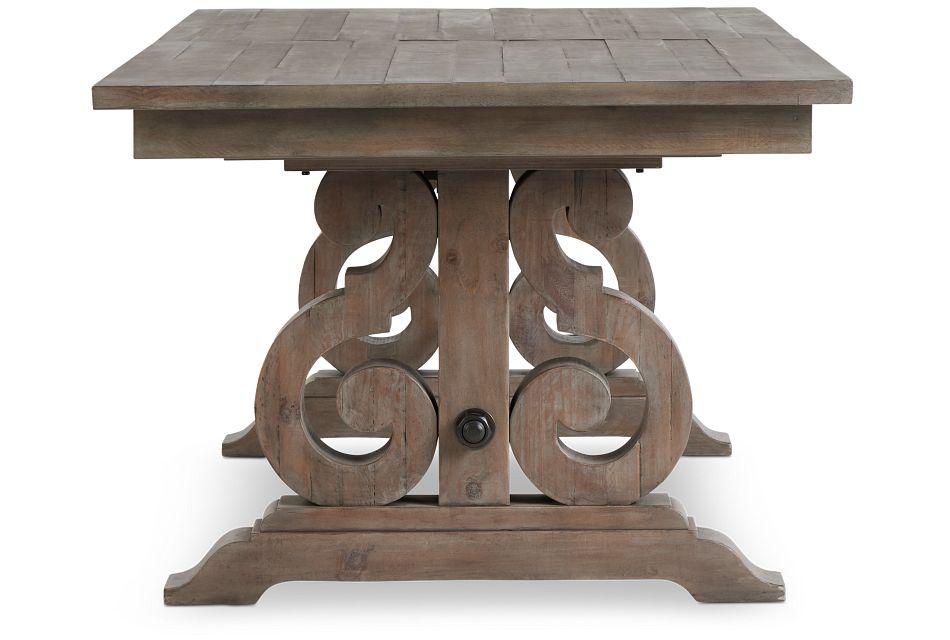 Sonoma Light Tone Trestle Table,  (3)