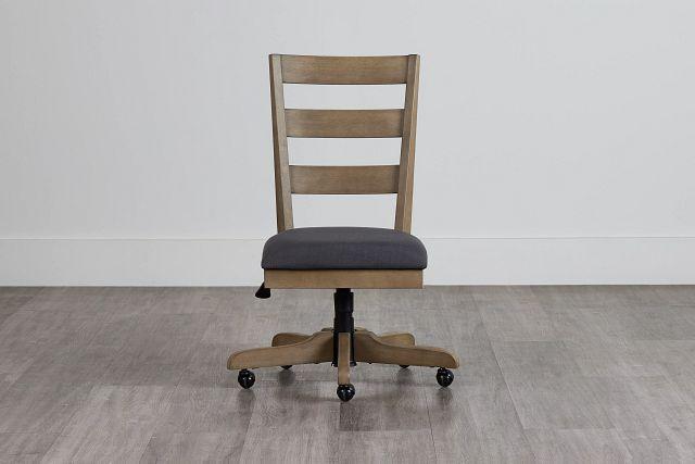 Vista Light Tone Wood Desk Chair (0)