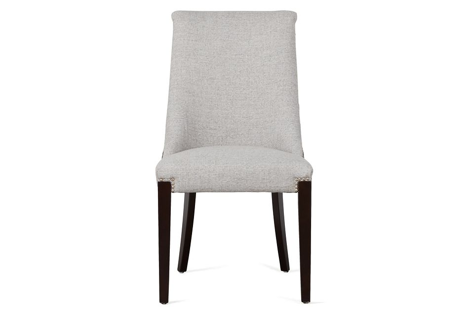 Brynn Light Gray Micro Side Chair