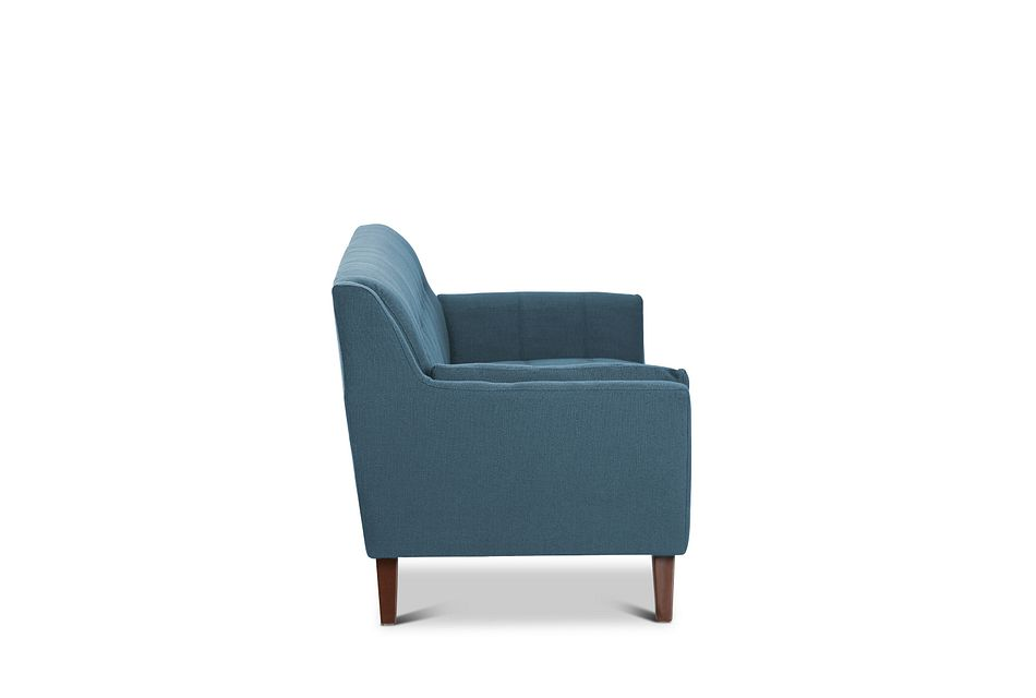 Tahoe Dark Blue Fabric Sofa